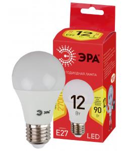 ECO LED A60-12W-827-E27 ЭРА (диод, груша, 12Вт, тепл, E27) (10/100/2000)