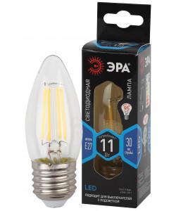 F-LED B35-11w-840-E27 ЭРА (филамент, свеча, 11Вт, нейтр, E27) (10/100/5000)