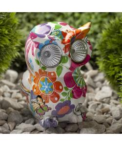 ERAFYS01-04 ЭРА Садовый светильник Птица на солнечной батарее, полистоун, 15 см (24/288)