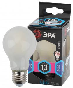 F-LED A60-13W-840-E27 frost ЭРА (филамент, груша мат., 13Вт, нейтр, Е27) (10/100/1500)