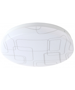 Светильник потолочный светодиодный ЭРА Slim без ДУ SPB-6 Slim 2 24-6K 24Вт 6500K