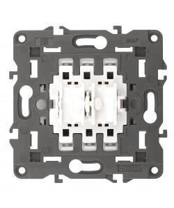 12-1110-99 ЭРА Переключатель для жалюзи (кноп), 10АХ-250В, Эра12, механизм (10/100/3000)