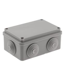 Распаячная коробка ЭРА  KORv-120-80-50-6g открытой установки на винтах 6 гермовводов IP55