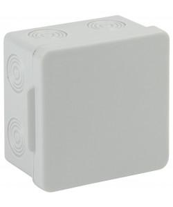 ЭРА Коробка распаячн. открытой установки КОР 80х80х50мм без гермовводов 7 вх. IP54 (100/1600)