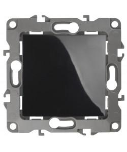 12-1111-06 ЭРА Кнопка, 10АХ-250В, Эра12, чёрный (10/100/2500)
