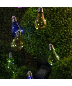 ERALM01-01 ЭРА Садовая гирлянда 10 подсвечиваемых  светодиодами лампочек (12/216)
