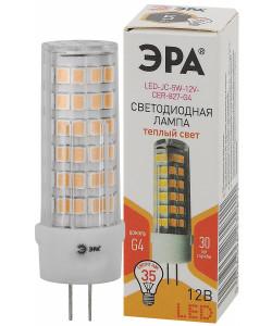 LED JC-5W-12V-CER-827-G4 ЭРА (диод, капсула, 5Вт, тепл, G4) (20/500/21000)
