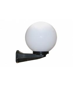 НБУ 01-60-201 ЭРА Светильник садово-парковый шар опал с настенным крепежом D200mm Е27 (2/60)