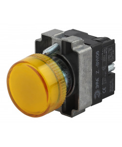 ЭРА Индикатор LAY5-BU65 желтого цвета d22мм (20/200/8000)
