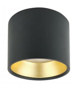 OL8 GX53 BK/GD Подсветка ЭРА Накладной под лампу Gx53, алюминий, цвет черный+золото (40/800)