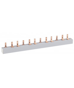 ЭРА NO-222-03  Шина соединительная типа PIN для 1-ф нагр. 63А 54 мод. (20/100/2000) (20/100/2000)
