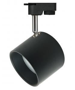TR15 GX53 BK/SL Светильник ЭРА Трековый под лампу Gx53, алюминий, цвет черный+серебро (30/360)