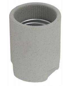 ЭРА Патрон Е40 подвесной,керамика, белый (x50) (50/2800)