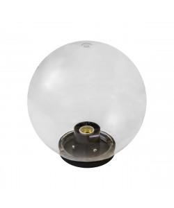 НТУ 01-100-302 ЭРА Светильник садово-парковый шар прозрачный D300mm Е27 (4/32)