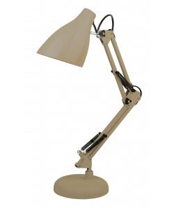 ЭРА наст.светильник N-123-Е27-40W-BG бежевый (12/96)