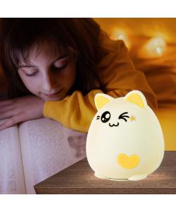 ЭРА светильник-ночник NLED-413-1W-Y белый с желтым (30/60/360)