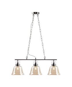 Светильник подвесной (подвес) Rivoli Avrora 5055-203 3 х E27 40 Вт лофт - кантри