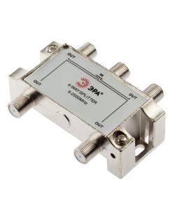 Делитель ТВ ЭРА  D-F-SAT-04 4 ответвления под F разъём 5-2500 МГц
