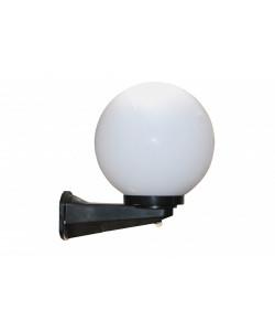 НБУ 21-60-251 ЭРА Светильник садово-парковый шар опал с датчиком и настенным крепежом D250mm Е27 (1/