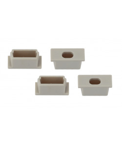 ЭРА 1506-3B Набор заглушек для профиля CAB262, 4 сквозные (500/24000)