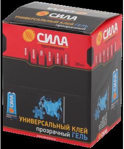 SGTB-30 СИЛА Универсальный ГЕЛЬ прозрачн. 30  мл  в ШБ (12/288/4608)