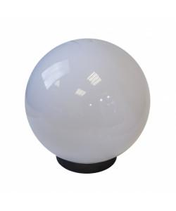 НТУ 01-150-401 ЭРА Светильник садово-парковый шар белый D400mm Е27 (18)