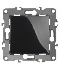 12-1101-06 ЭРА Выключатель, 10АХ-250В, IP20, Эра12, чёрный (10/100/3200)