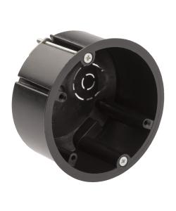 Коробка установочная ЭРА  KUP-73-45-m-black для полых стен саморезы металлические лапки черная IP20
