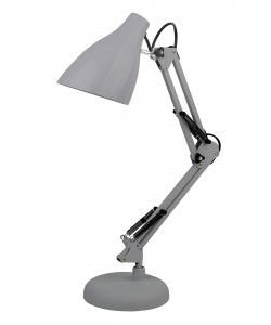 ЭРА наст.светильник N-123-Е27-40W-GY серый (12/96)