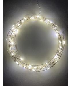 ENIN -5NW ЭРА Гирлянда LED Нить 5 м теплый свет, АА (100/2500)