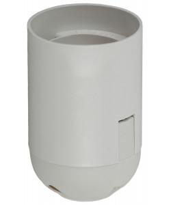 ЭРА Патрон Е27 подвесной,пластик, белый (x50) (50/400/9600)