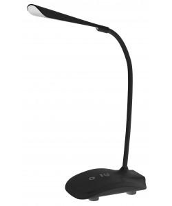 ЭРА наст.светильник NLED-428-3W-BK черный (12/48/192)