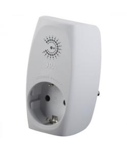 Сетевой фильтр ЭРА  SF-1e-W с максимальной защитой с заземлением 1 розетка 16 А белый