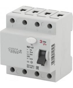 ЭРА Pro Устройство защитного отключения NO-902-34 УЗО ВД1-63 3P+N 25А 30мА (45/945)