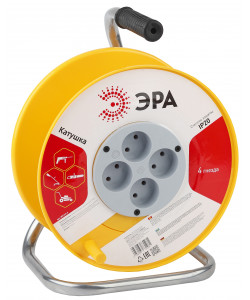 ЭРА K-P-4 Катушка пластиковая без заземления 4гн (2/48)