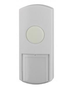 Кнопка дверного звонка ЭРА  D1 проводной, белый