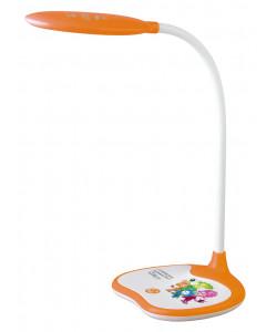 ЭРА наст.светильник NLED-433-6W-OR оранжевый ФИКСИКИ (16/96)
