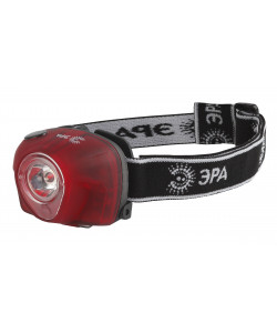 G3W Фонарь ЭРА Налобный 3W LED, коллиматор, 3хААА, 4 режима, бл. (25/100/400)