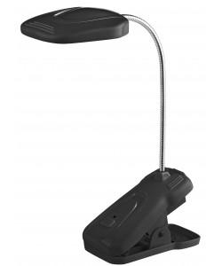ЭРА наст.светильник NLED-420-1.5W-BK черный (10/40/320)