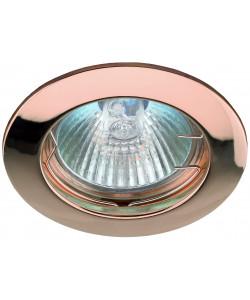 KL1 SC Светильник ЭРА литой  простой MR16,12V, 50W медь (100/3000)