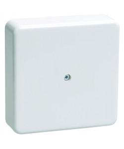 ЭРА Коробка распаячная 100х100х30 (без клеммы) белая IP40 ЭРА (50/1500)