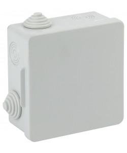 ЭРА Коробка распаячн. открытой установки КОР 100х100х50мм с гермовводами 8 вх. IP54 (60/1200)