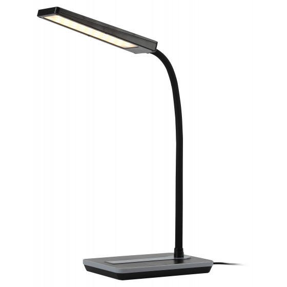 ЭРА наст.светильник NLED-446-9W-BK черный (8/96)