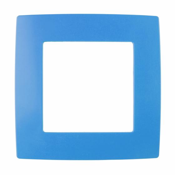 12-5001-28 ЭРА Рамка на 1 пост, Эра12, голубой (20/200/6400)