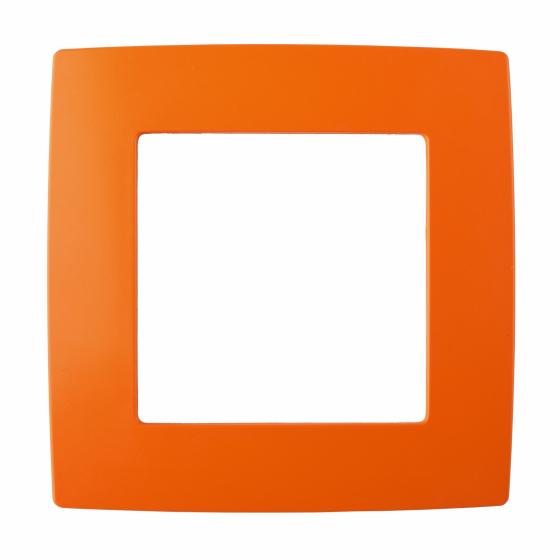 12-5001-22 ЭРА Рамка на 1 пост, Эра12, оранжевый (20/200/6000)