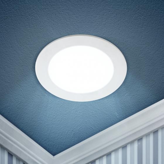 LED 1-18-6K Светильник ЭРА светодиодный круглый LED 18W 220V 6500K (20/280)