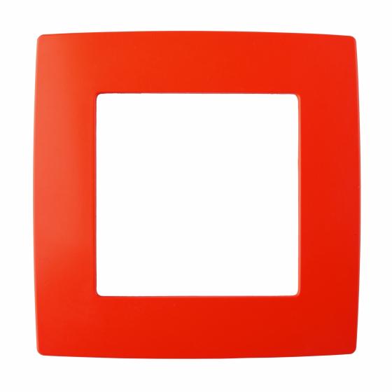 12-5001-23 ЭРА Рамка на 1 пост, Эра12, красный (20/200/5000)