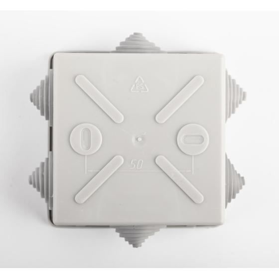 ЭРА Коробка уравнивания потенциалов KUPR 85х85х40мм, шина 6х9, 8 групп IP44 (60/1800)