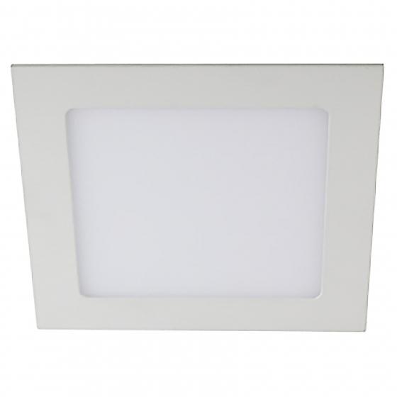 LED 2-18-6K Светильник ЭРА светодиодный квадратный LED 18W 220V 6500K (20/280)
