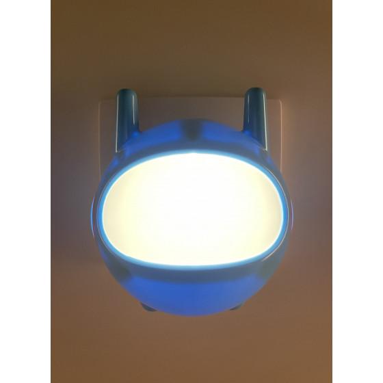 ЭРА ночник NN-604-LS-BU синий (42/84/1008)